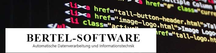Logo Bertel Software, Wien
